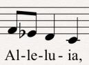 Al-le-lu-ia